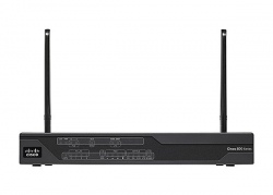 Маршрутизатор  Cisco Secure FE Router (non-US) 4G LTE / HSPA+ w/ SMS/GPS C881G-4G-GA-K9