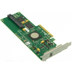 447431-001 Контроллер HP Serial Attached SCSI (SAS) Host Bus Adapter (HBA) - Has four internal ports with RAID - Half height (HH)